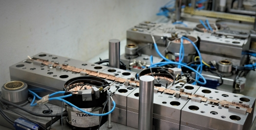 Production of tools for serial production